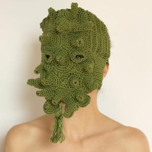 2013, Larvatus prodeo. Crochet mask)