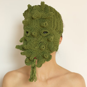 2013, Larvatus prodeo. Crochet mask)